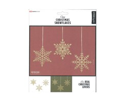 Traditional X-Mas Snowflakes 9pcs