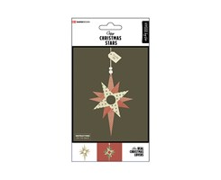 Traditional X-Mas Stars 6pcs