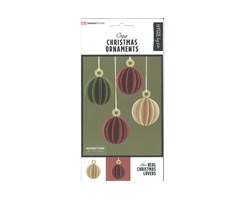 Traditional X-Mas Ornaments 6pcs