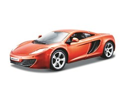 McLaren MP4-12C 1:24 metal orange