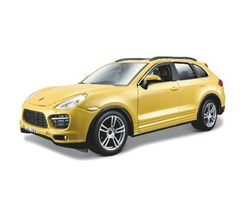 Porsche Cayenne Turbo 1:24 white