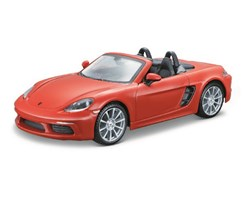 Porsche 718 Boxster 1:24 orange