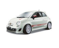 ABARTH 500 esseesse 1:24 white