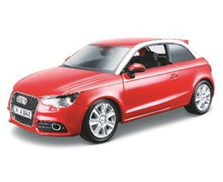 Audi A1 1:24 metallic red