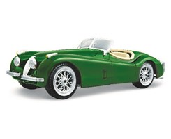 Jaguar XK 120 Roadster (1951) 1:24 dark green