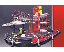 Ferrari racing garage incl. 1 car 1:43