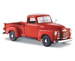 1950 Chevrolet 3100 Pickup 1:24 orange