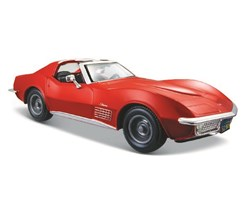 Chevrol Corvette 1970 1:24 red