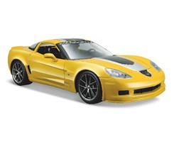 2009 Chevrolet Corvette Gt1 1:24 yellow