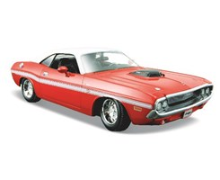 1970 Dodge Challenger R/T Coupe 1:24 red