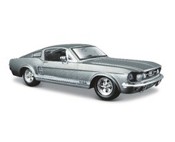 1967 Ford Mustang Gt 1:24 met grey