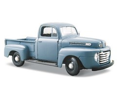 1948 Ford F-1 Pickup1:24 grey blue