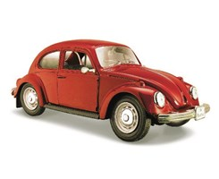 Volkswagen Beetle 1:24 red