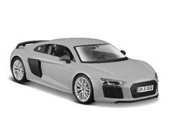 Audi R8 V10 Plus 1:24 met grey