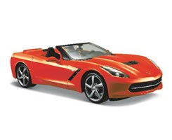 2014 Corvette Stingray Convertible 1:24 red