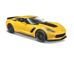 2015 Corvette Z06 1:24 yellow