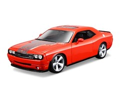 2008 Dodge Challenger Srt8 1:24 orange