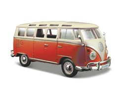 "Volkswagen Van ""Samba"" 1:24 white/Red"