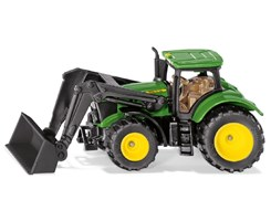 John Deere 6215R with front loader