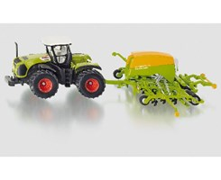 Claas Tractor with Amazone cayena seeder 1:87