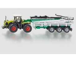 Claas Xerion with vacuum tank 1:87