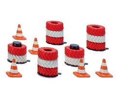 Accessories tyre stacks and pylons
