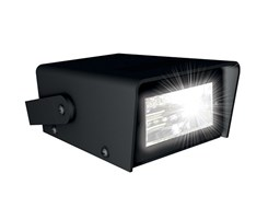 Strobe light led 12,5x9,5x5cm ex. 3xAAAbatterier