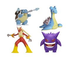 Pokemon Feature Figure 11cm 4pcs ass.