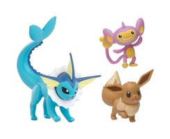 Pokemon Battle Figure 3pcs/pack, 4 packs ass.