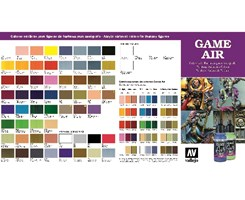 COLORCHART GAME AIR COLOR