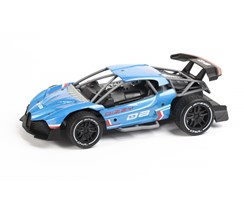 Extreme racing on road metal R/C 1:16 2,4GHz blue