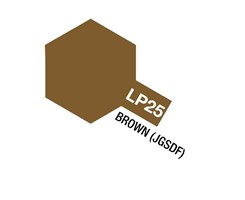 Tamiya Lacquer Paint LP-25 Brown (JGSDF)