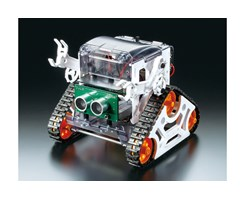 Microcomputer Robot (Crawler Type)