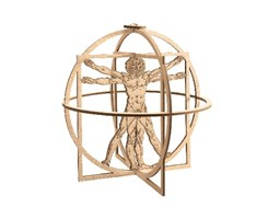 Vitruvian Man (500 Years LdV)