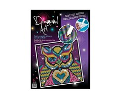 Diamond Art 20x20cm Owl