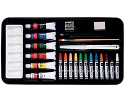 FINEART oil colour art set 24pcs