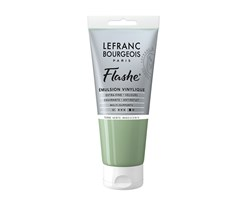 FLASHE ACRYLIC 80ML TUBE GREEN EARTH IRIDESCENT