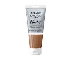 FLASHE ACRYLIC 80ML TUBE RAW SIENNA